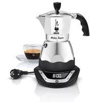 Bialetti Moka Timer гейзерная кофеварка электрическая на 3 порции
