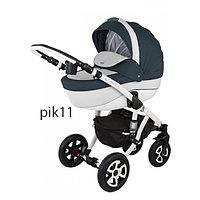 Детская универсальная коляска Adamex Barletta 3в1 (PIK11), фото 1