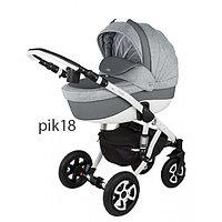 Детская универсальная коляска Adamex Barletta 3в1 (PIK18), фото 1