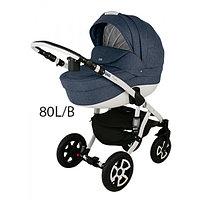 Детская универсальная коляска Adamex Barletta 3в1 (80L-B), фото 1