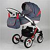 Универсальная детская коляска Adamex Barletta 2в1 (Red/Blue)