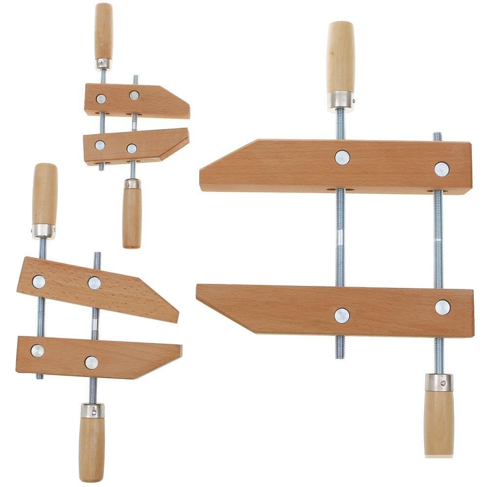 Тиски деревянные двухвинтовые