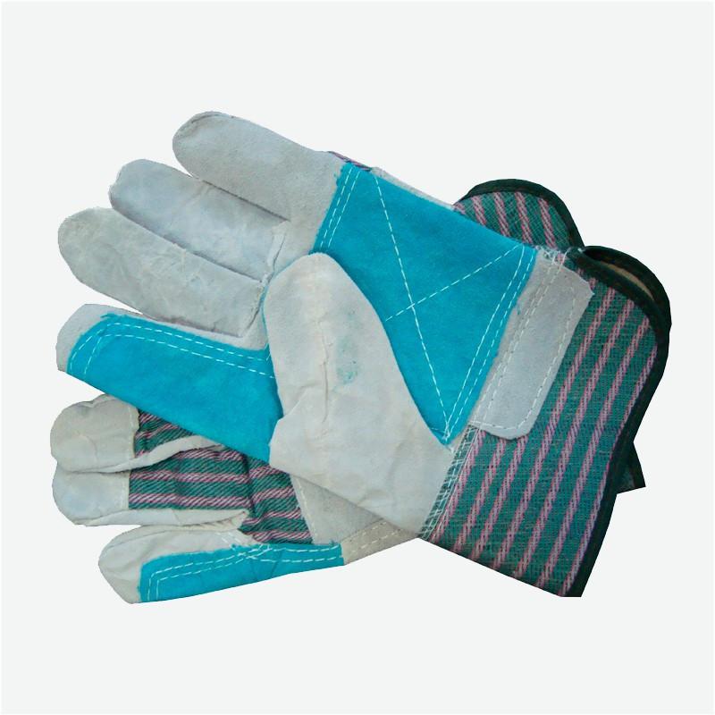 Перчатки ГЕР спилковые комбинированные усиленные