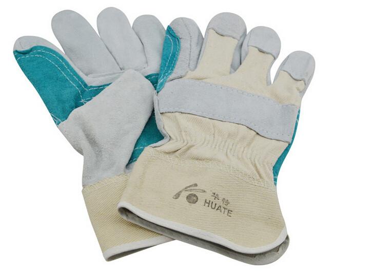 Перчатки для защиты рук СНАШ спилковые комбинированные