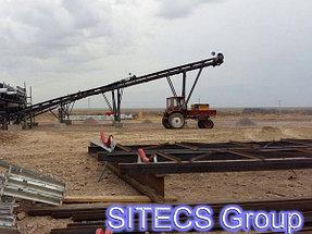 Монтаж и установка конвейеров для компании ТОО «Капчагайхиммонтаж» 1