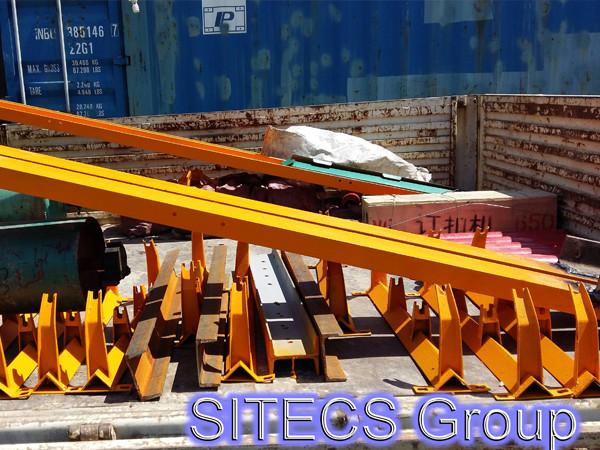 Сборка и установка конвейера для компании ТОО «Сардар LTD»
