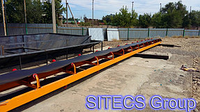 Сборка и установка конвейера для компании ТОО «Сардар LTD» 2
