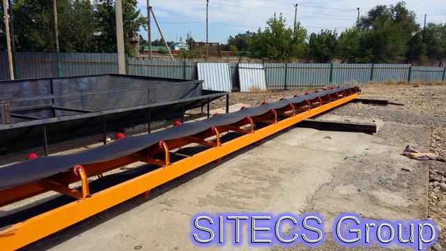 Сборка и установка конвейера для компании ТОО «Сардар LTD» -1