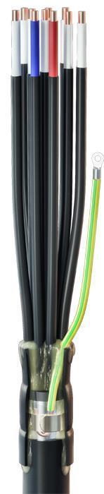 Концевые муфты наружной установки для контрольных кабелей с пластмассовой изоляцией до 1кВ