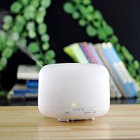 Увлажнитель воздуха арома-лампа для эфирных масел с ультразвуковым распылением с таймером и подсветкой Benice