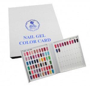 Книга дисплей для гель-лака на 120 цветов