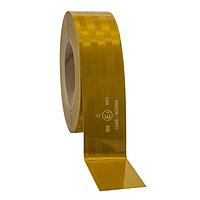 3M Пленка Световозвращающая серии 943-71 для контурной маркировки ТС, желтая, 50,8 мм х 50 м. Танго контурная