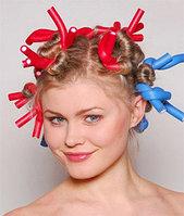 Бигуди для волос, 10 в 1, синие