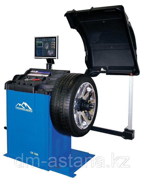 Станок балансировочный с автовводом данных и ЖК-монитором (для колес до 70 кг) TROMMELBERG