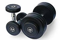 Гантельный ряд DAYU FITNESS DB-182 от 2,5 до 25 кг