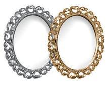 """Тумба под раковину """"Искушение"""" 85 см (черная,декор серебро). Настенное зеркало.Шкаф., фото 3"""