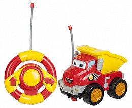 Машинка и руль на р/у, свет и звук - Чак и его друзья