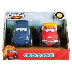 Набор машинок CHUCK & FRIENDS 5 см 2 шт/уп