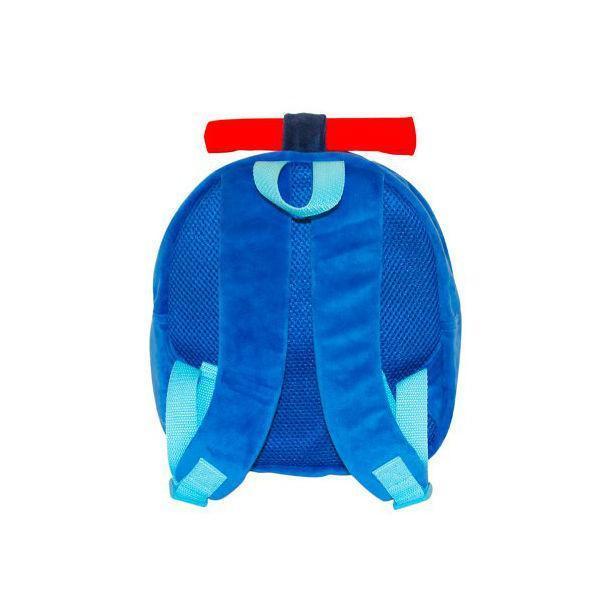 Плюшевый рюкзак Gulliver Поли Робокар на молнии