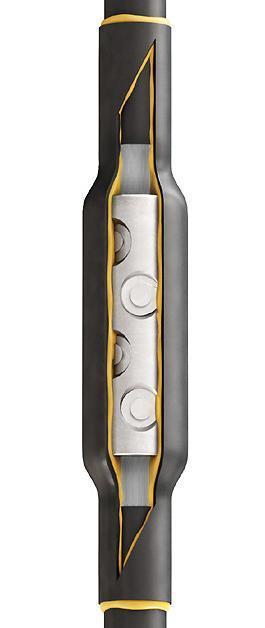 Соединительные муфты для кабелей с резиновой изоляцией до 1кВ