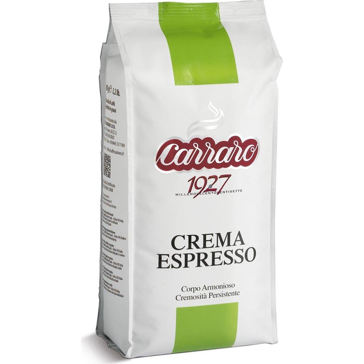 """Carraro """"Crema Espresso"""", кофе в зернах, Италия"""