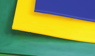 Пеноакрил желтый белый 10мм. (1,22м х 2,44м)