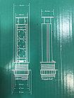 Выдвижные розетки в столешницу 3 розетки 2xUSB, черный, с проводом 1,5 метра GTV, фото 10