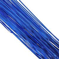 Новогодний дождик 100 см синий
