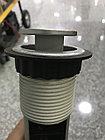 Выдвижные розетки в столешницу 3 розетки 2xUSB, черный, с проводом 1,5 метра GTV, фото 7
