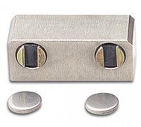 Магнитная защелка для двухстворчатых дверей. Для УФ - склеивания.