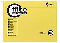 Папка подвесная для картотек Forpus А4 (310*234мм), желтый