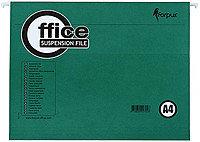 Папка подвесная для картотек Forpus А4 (310*234мм), зеленый
