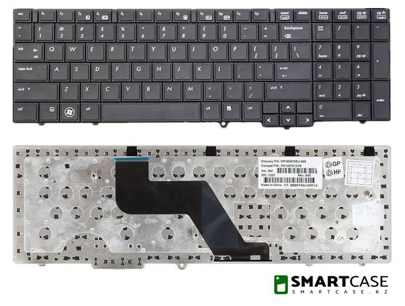 Клавиатура для ноутбука HP ProBook 6550B (черная, ENG)