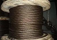 Канат Трос нержавеющий стальной 0.85 - 72 мм черный оцинкованный 12х18н10т ГОСТ AISI