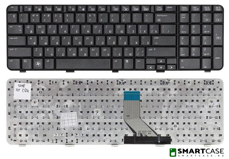 Клавиатура для ноутбука HP Compaq CQ71 (черная, ENG)