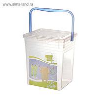 Контейнер для стирального порошка For kids, 8 л, с декором
