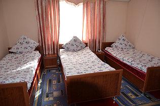 3 местный эконом класс, с раздельными кроватями