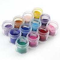 Бархатный песок, разные цвета, 10 мл