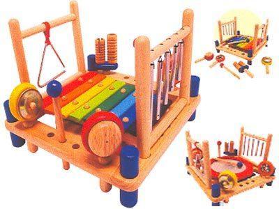 """Игрушка """"Музыкальные инструменты"""" деревянная"""