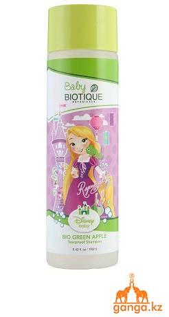 Детский шампунь без слез Зеленое Яблоко Disney (Bio Green Apple Baby Shampoo BIOTIQUE),190мл