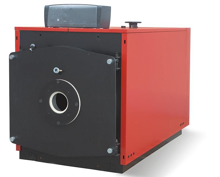 Водогрейный котел большой мощности Cronos bb-3060, 300 кВт (без горелки)