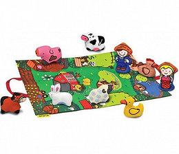 Игровой набор с ковриком и фигурками - Мини ферма