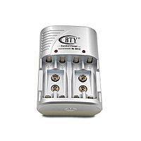 Зарядное устройство BTY-802B для аккумуляторов AA/AAA/9Vкрона/Ni-MH/Ni-Cd