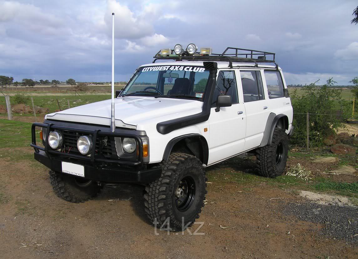 Nissan Patrol Y60 шноркель узкий - T4