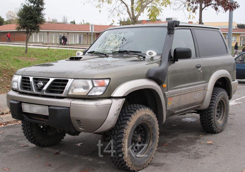 Nissan Patrol Y61 1997-2000 шноркель- T4