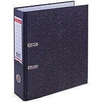 Папка регистратор 70 мм, с карманом на корешке,нижний метал. кант.,черная Berlingo