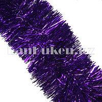 Мишура многослойная Фиолетовая d=10 см