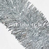 Мишура многослойная Серебристая d=10 см