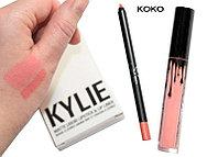 Набор матовая помада и карандаш Lip Kit от Kylie Jenner оттенок Koko K