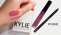 Набор матовая помада и карандаш Lip Kit от Kylie Jenner оттенок Posie K